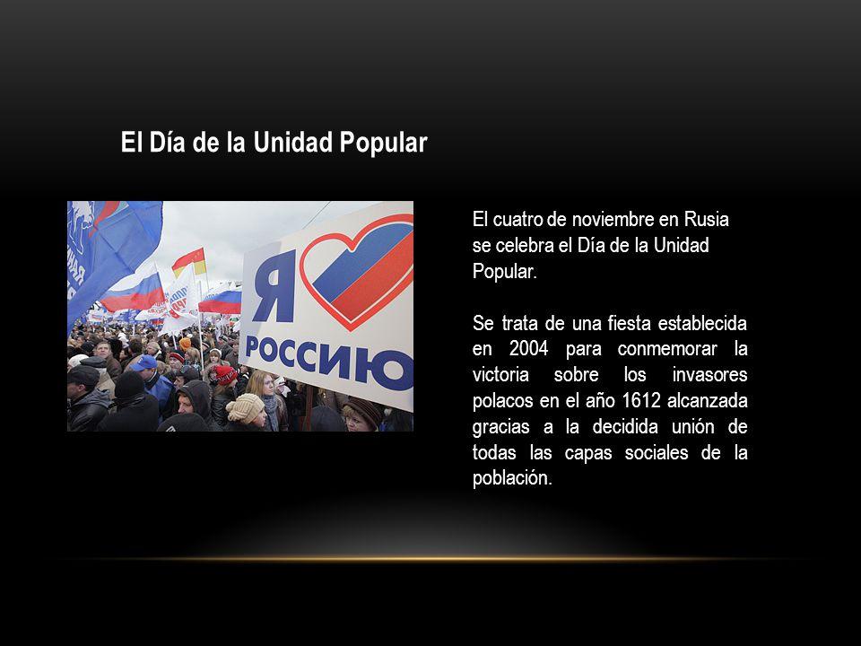 El Día de la Unidad Popular