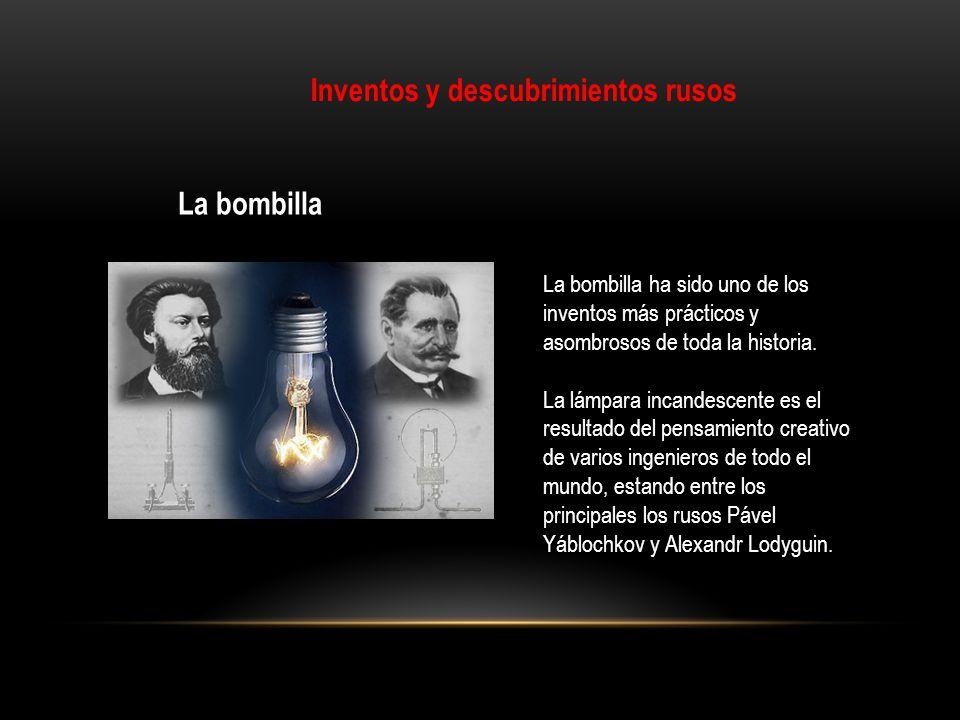 Inventos y descubrimientos rusos