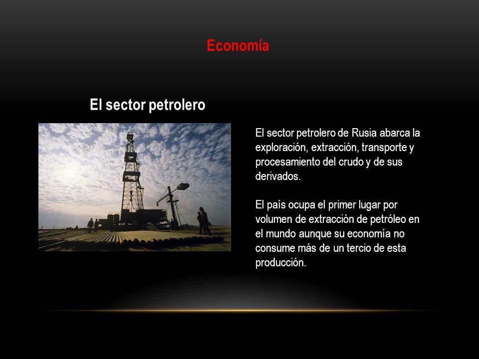 Economía El sector petrolero