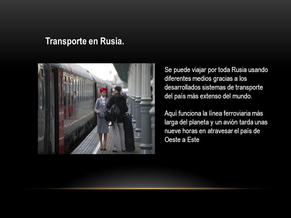 Transporte en Rusia.