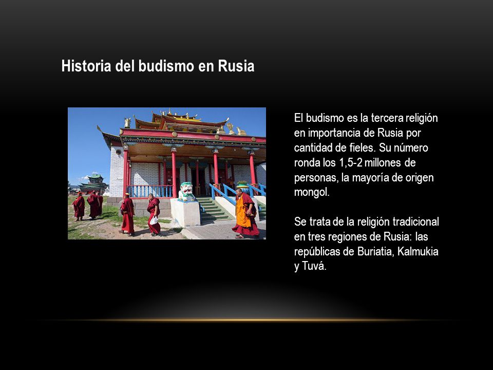 Historia del budismo en Rusia