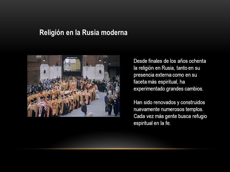 Religión en la Rusia moderna