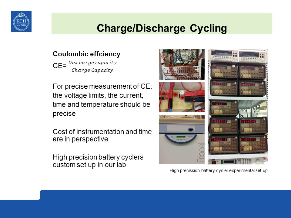 Charge/Discharge Cycling