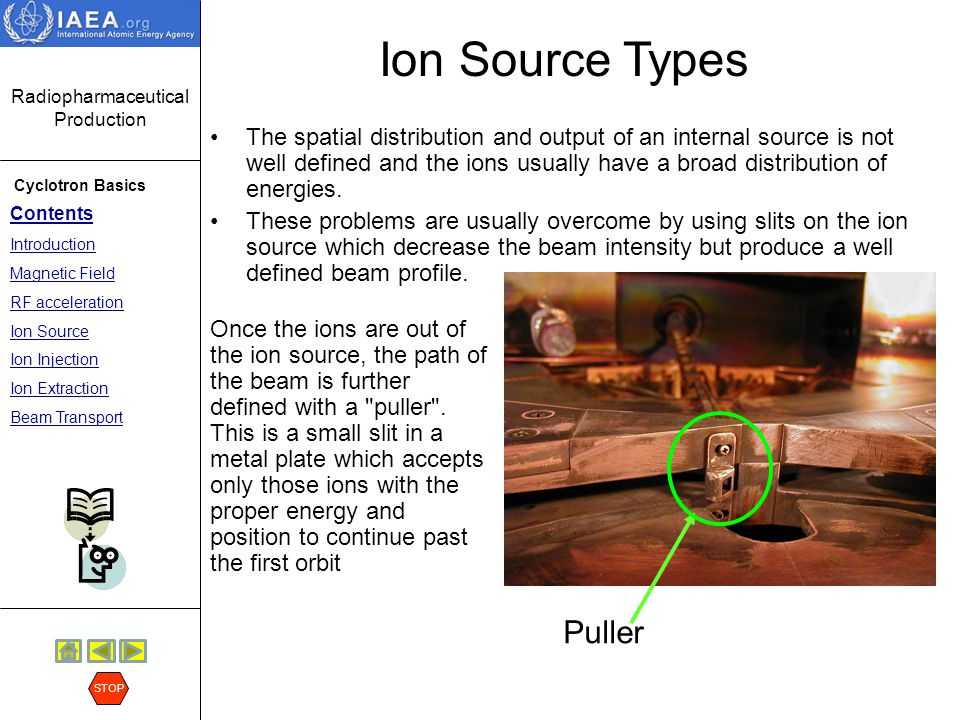 Ion Source Types Puller