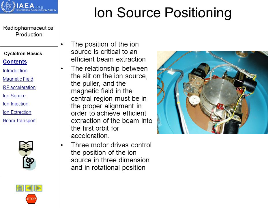 Ion Source Positioning