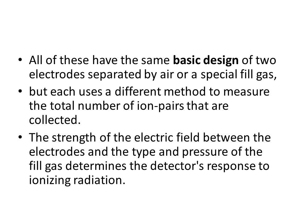 All of these have the same basic design of two electrodes separated by air or a special fill gas,