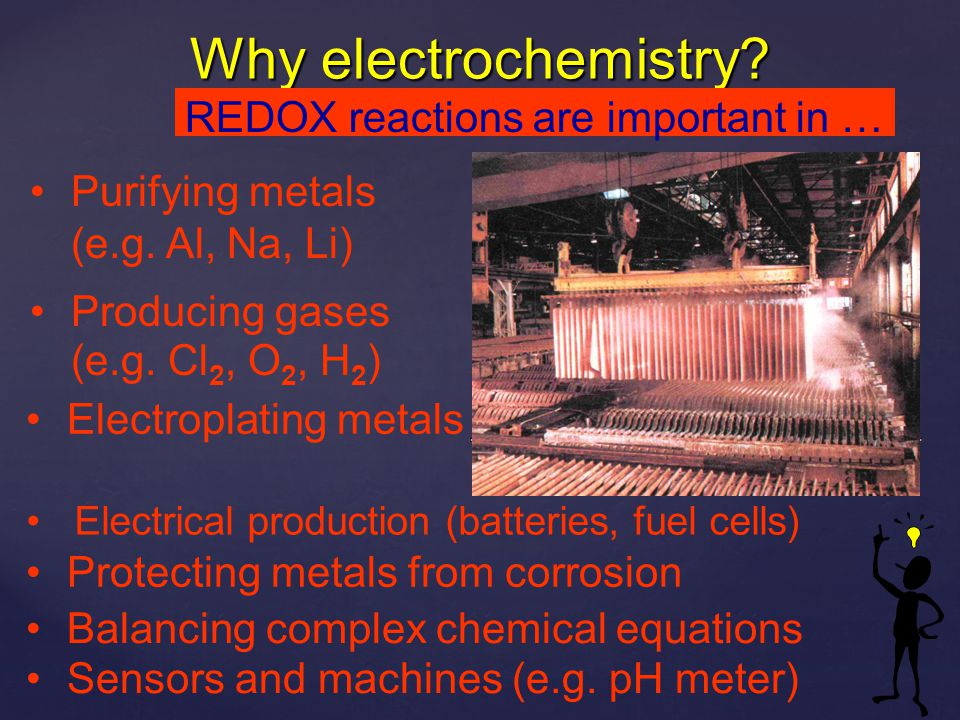 Why electrochemistry REDOX reactions are important in …