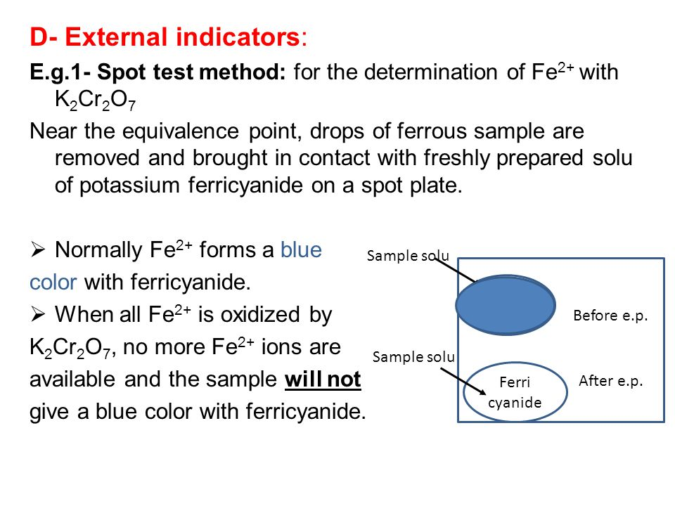 D- External indicators: