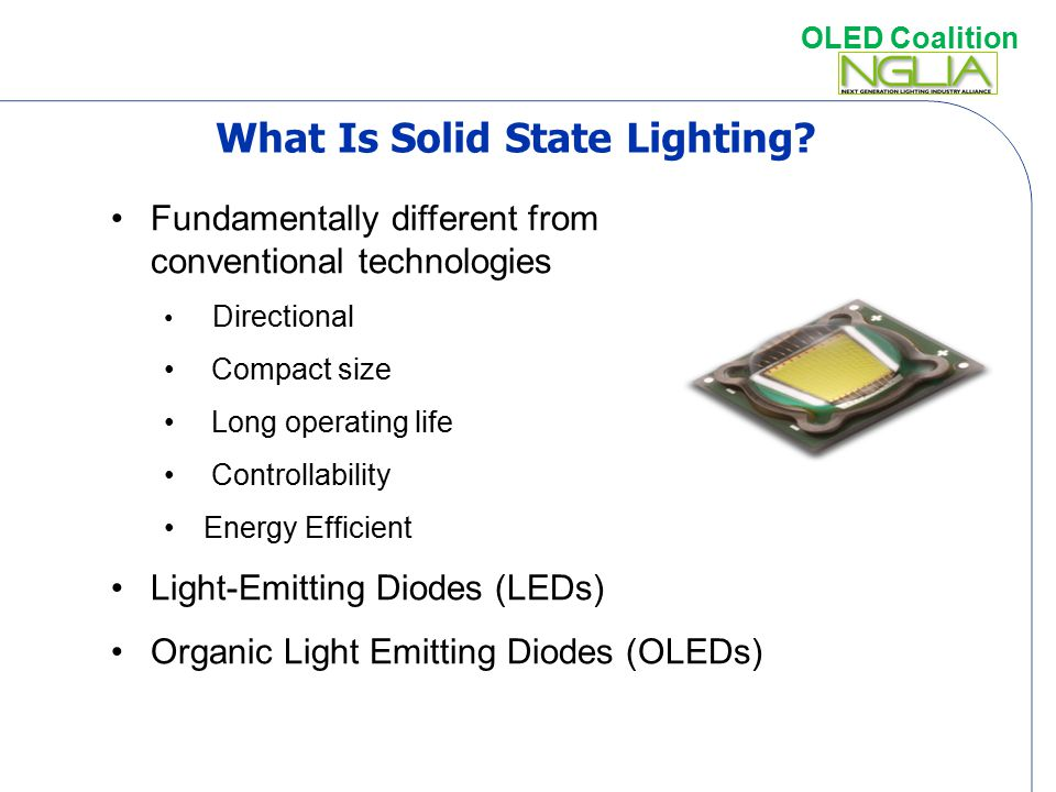 What Is Solid State Lighting
