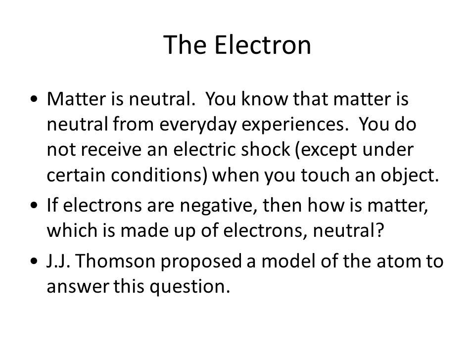 The Electron