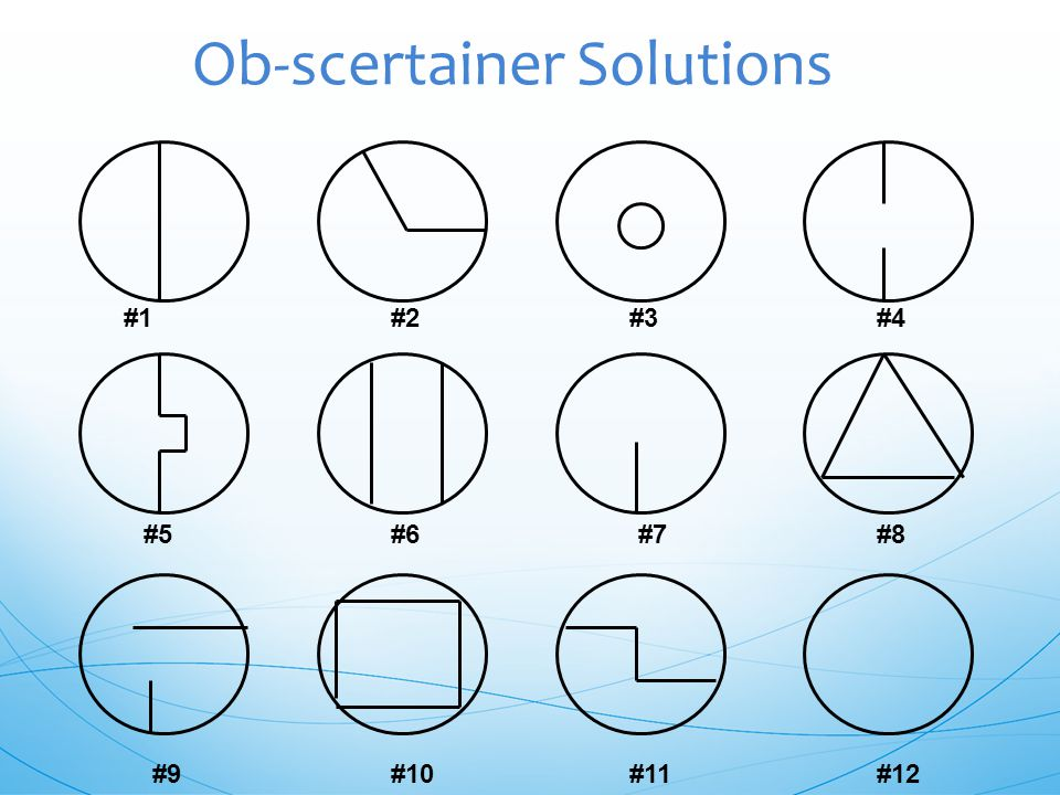 Ob-scertainer Solutions