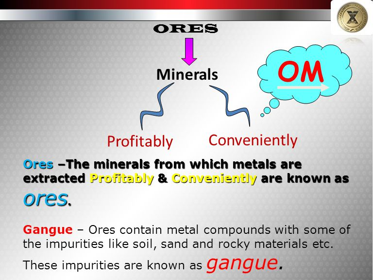 OM Minerals Profitably Conveniently ORES