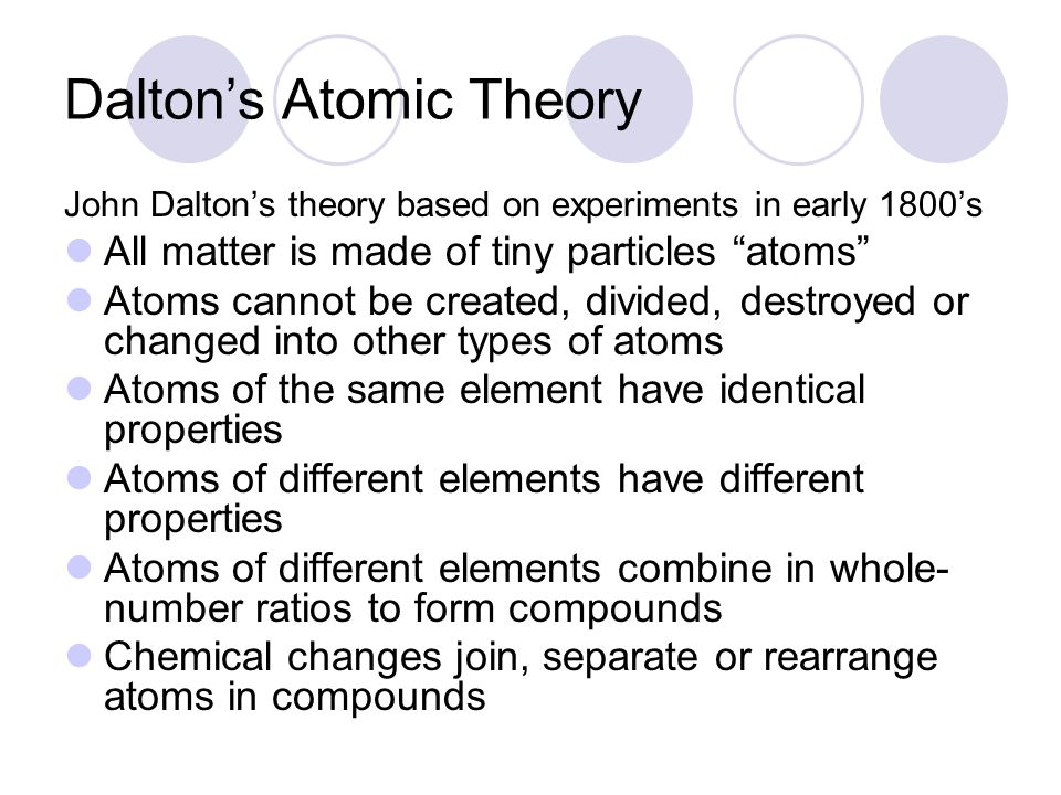 Section 4.1—Development of Atomic Theory - ppt download