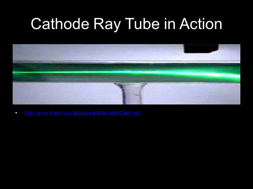 Cathode Ray Tube in Action