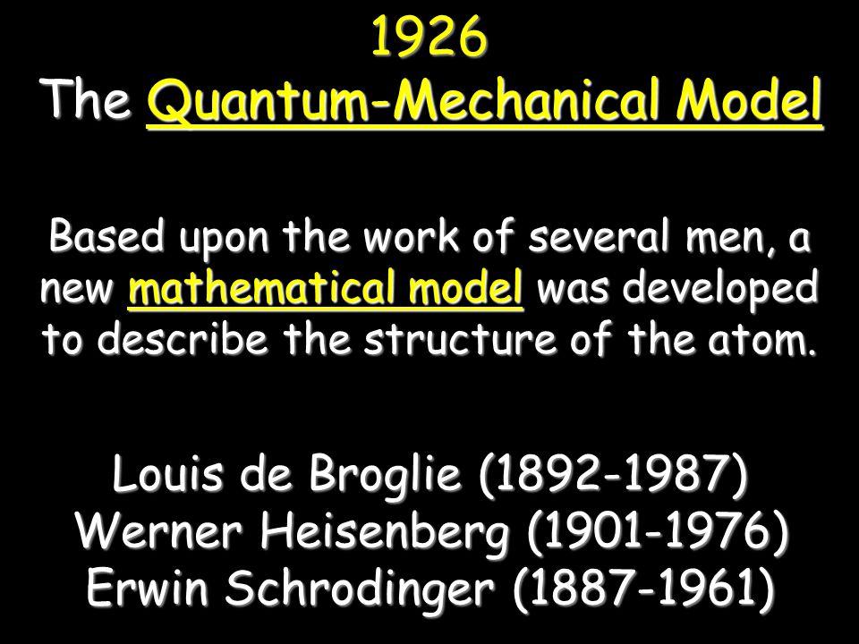 The Quantum-Mechanical Model