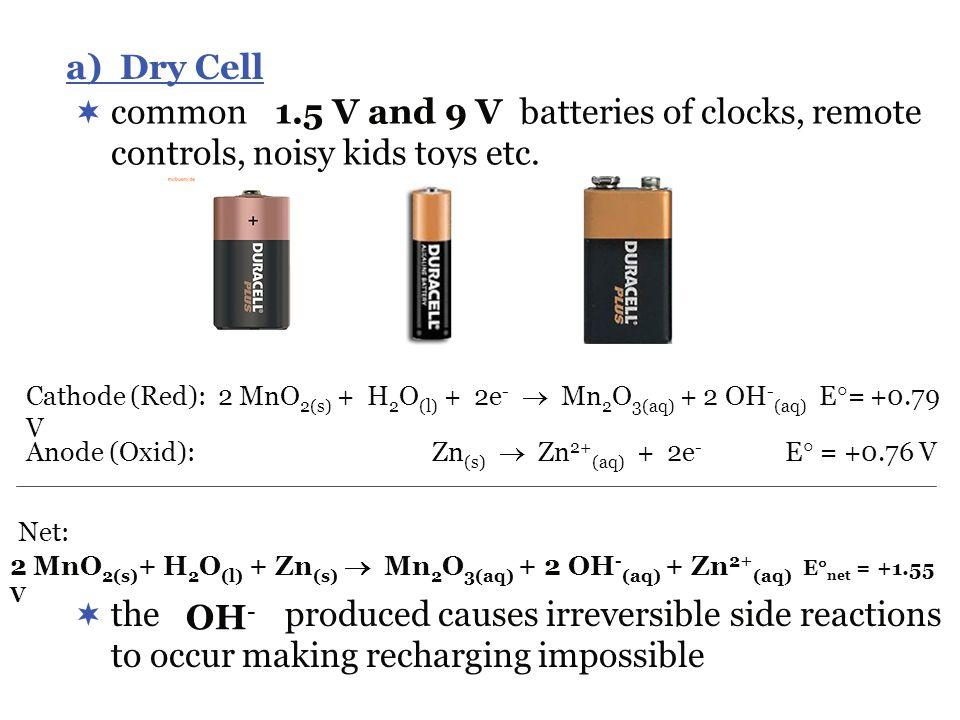 common batteries of clocks, remote controls, noisy kids toys etc.