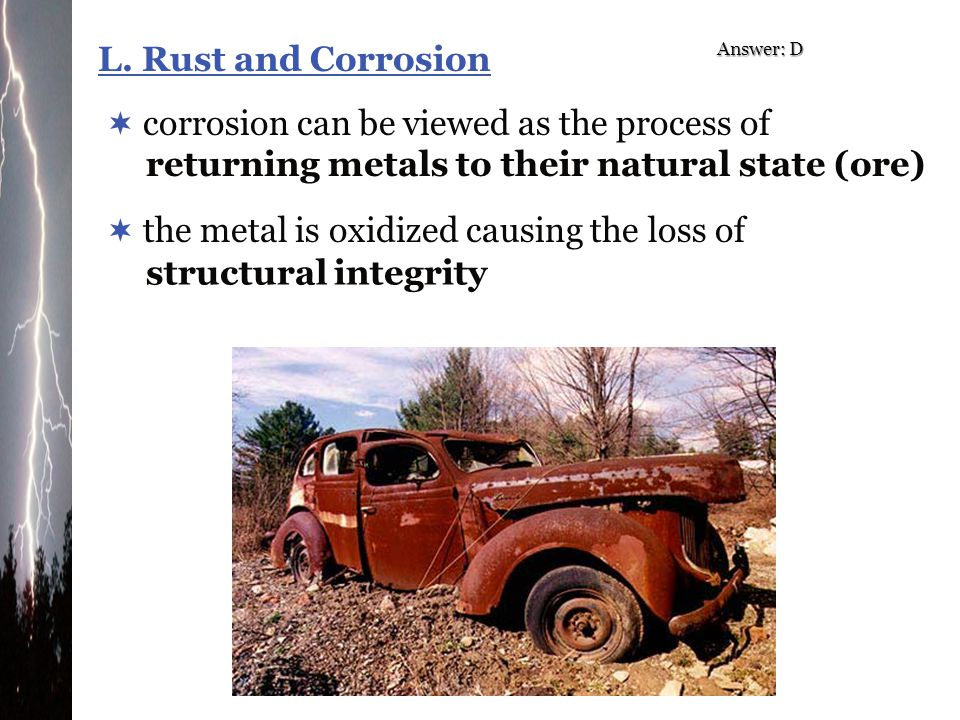 corrosion can be viewed as the process of