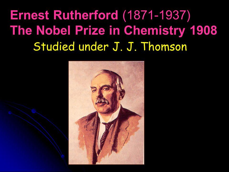The Nobel Prize in Chemistry 1908