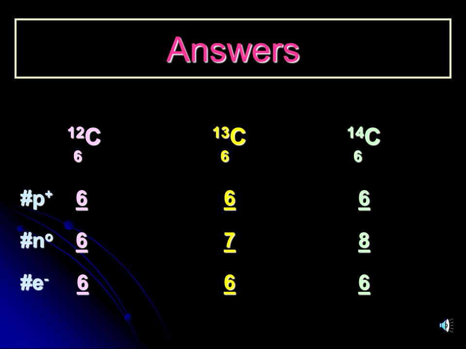Answers 12C 13C 14C. 6 6 6. #p+ 6 6 6.