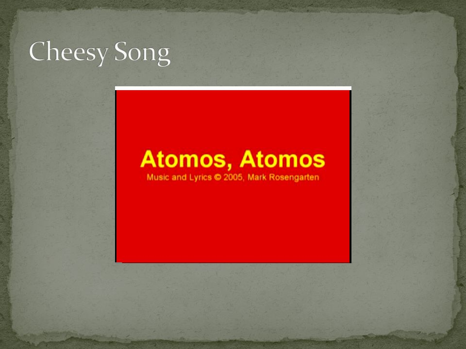 Cheesy Song