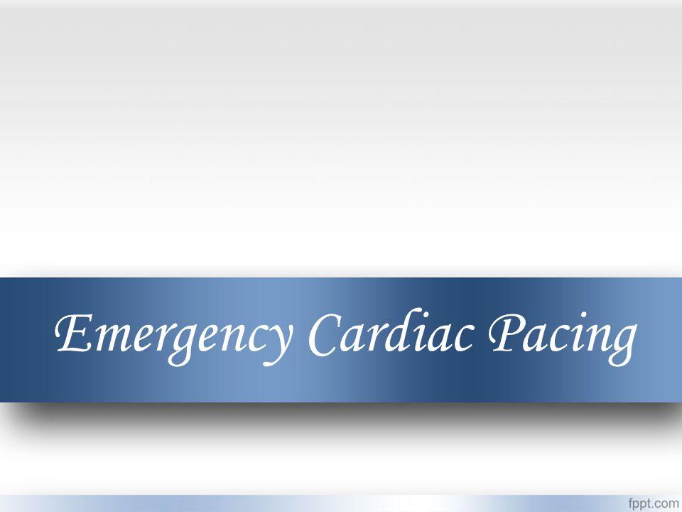 Emergency Cardiac Pacing