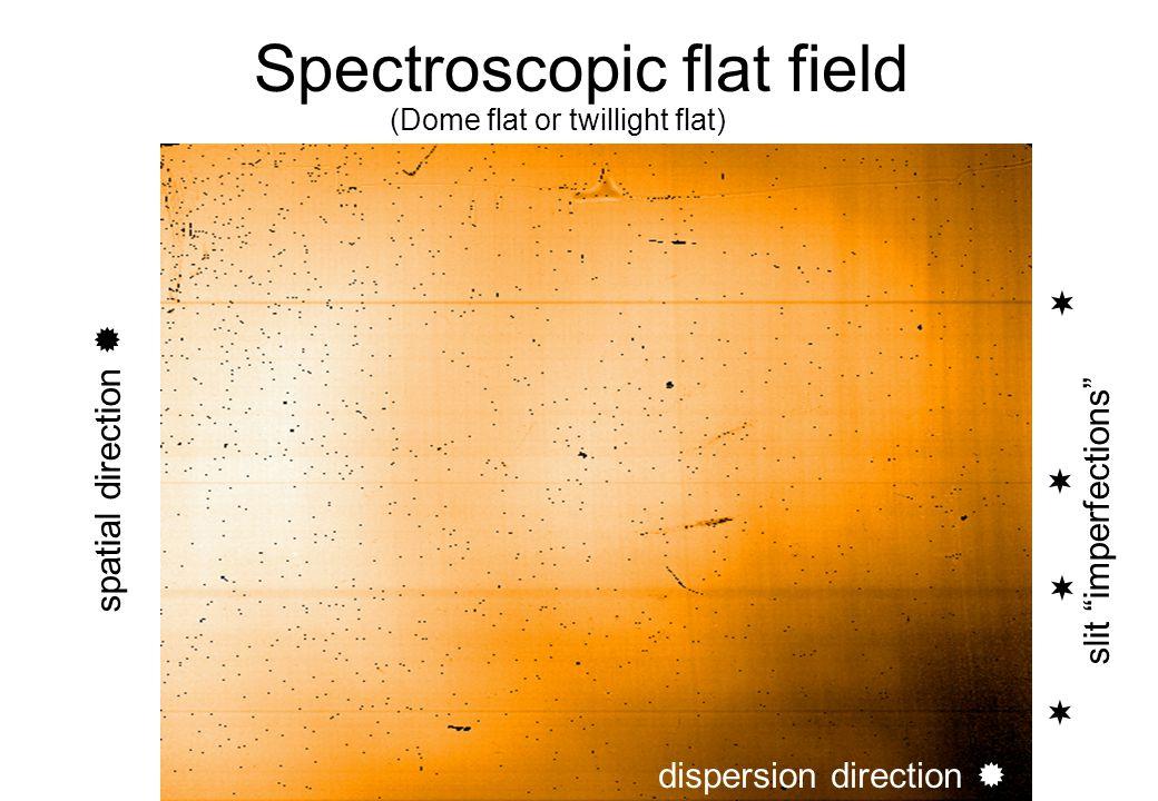 Spectroscopic flat field
