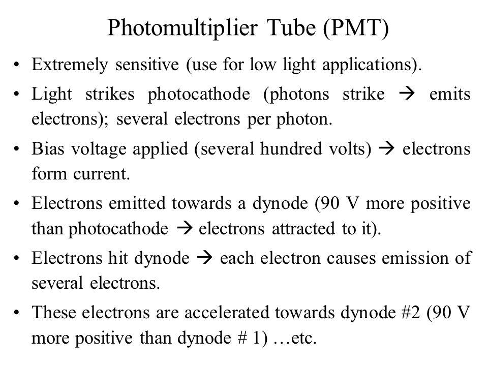 Photomultiplier Tube (PMT)