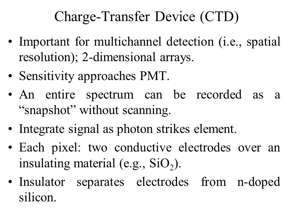 Charge-Transfer Device (CTD)