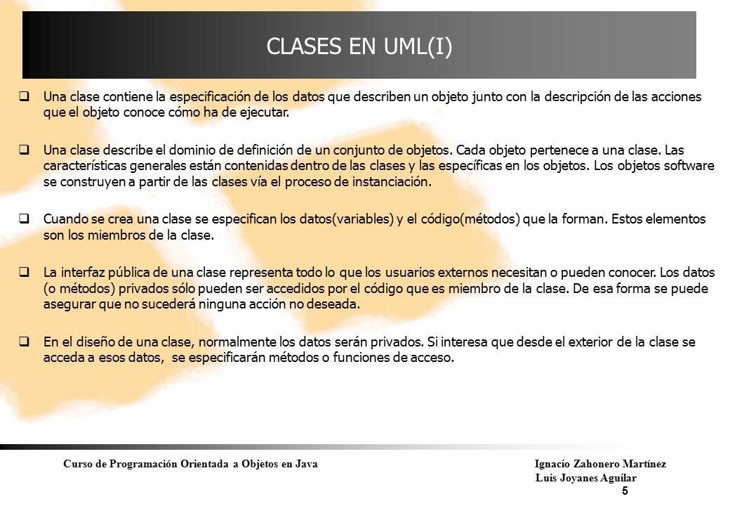 CLASES EN UML(I)