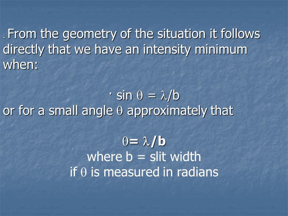 if is measured in radians