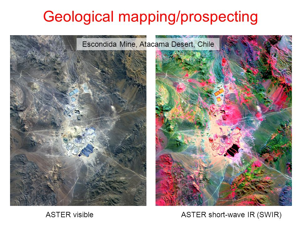 Geological mapping/prospecting