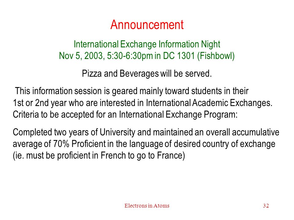 Pizza and Beverages will be served.