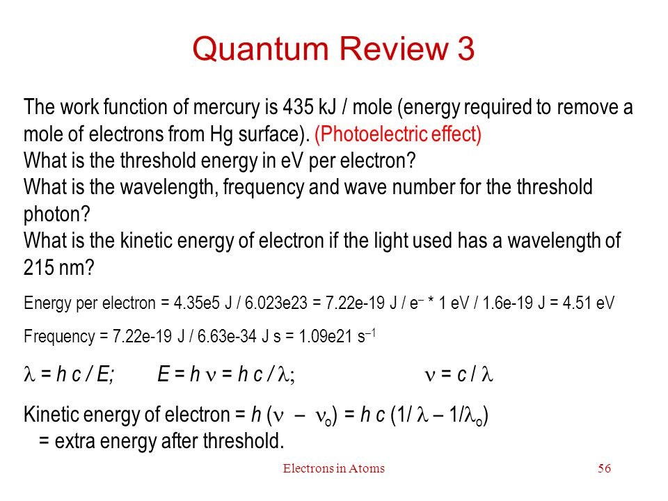 Quantum Review 3