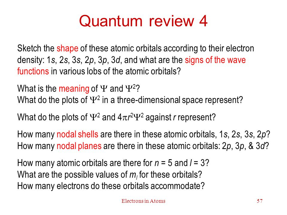 Quantum review 4