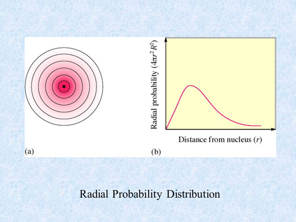 Radial Probability Distribution