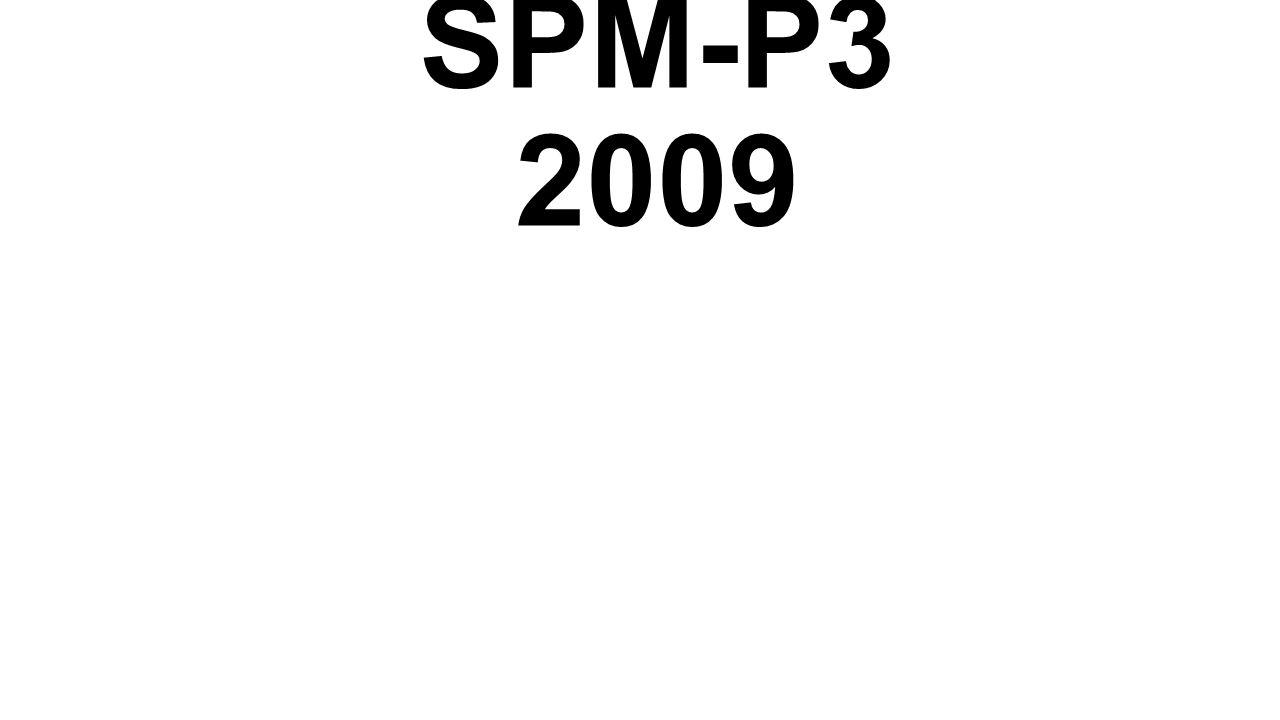 SPM-P3 2009