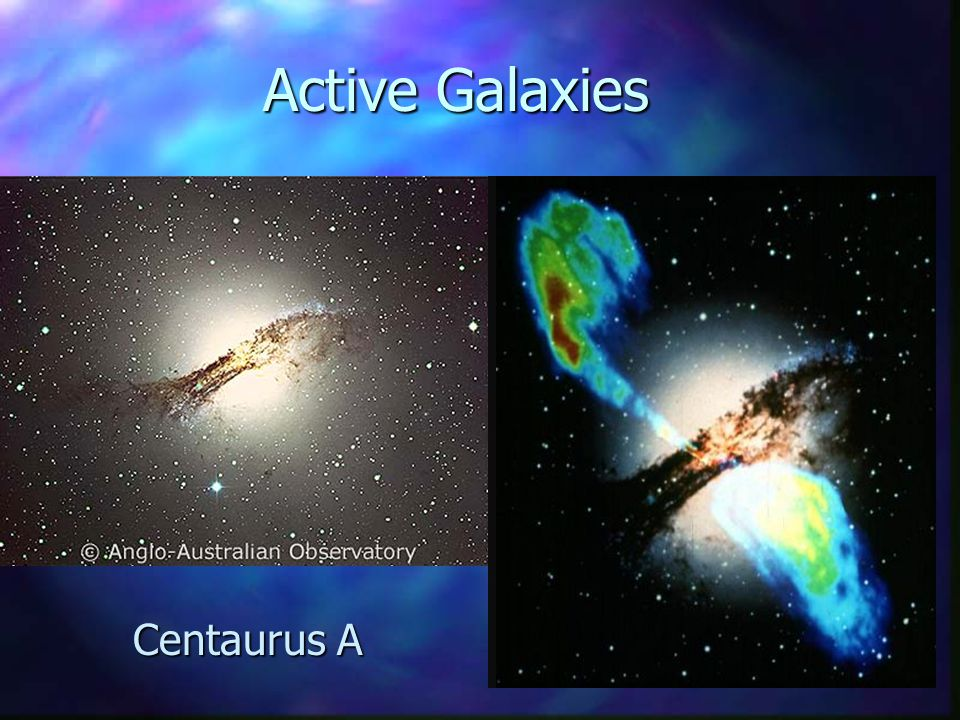 Active Galaxies Centaurus A