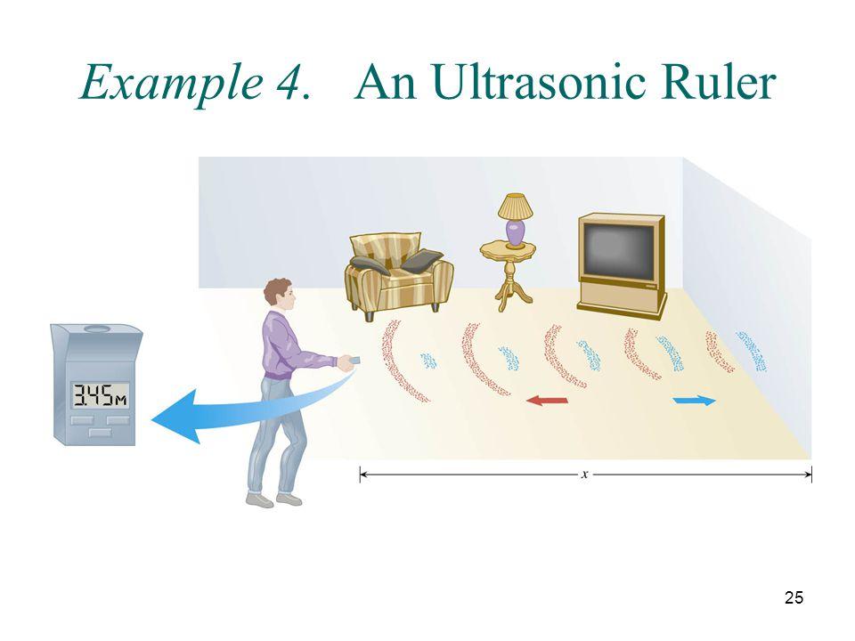 Example 4. An Ultrasonic Ruler