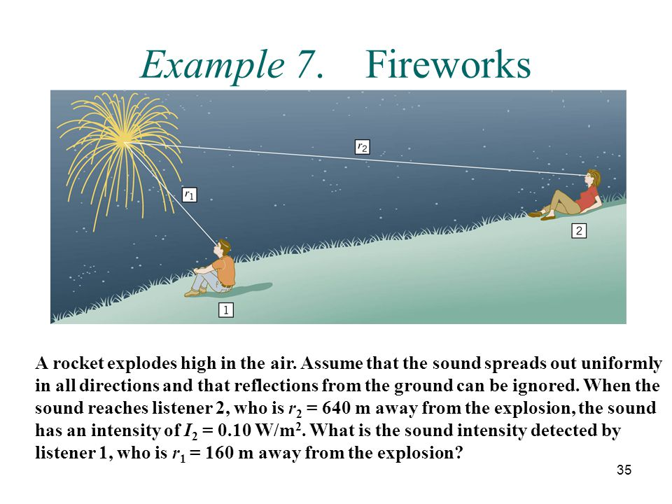 Example 7. Fireworks