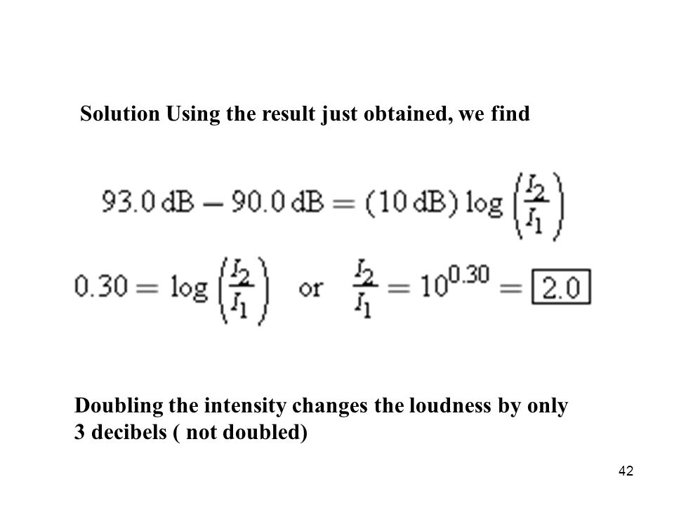 Solution Using the result just obtained, we find