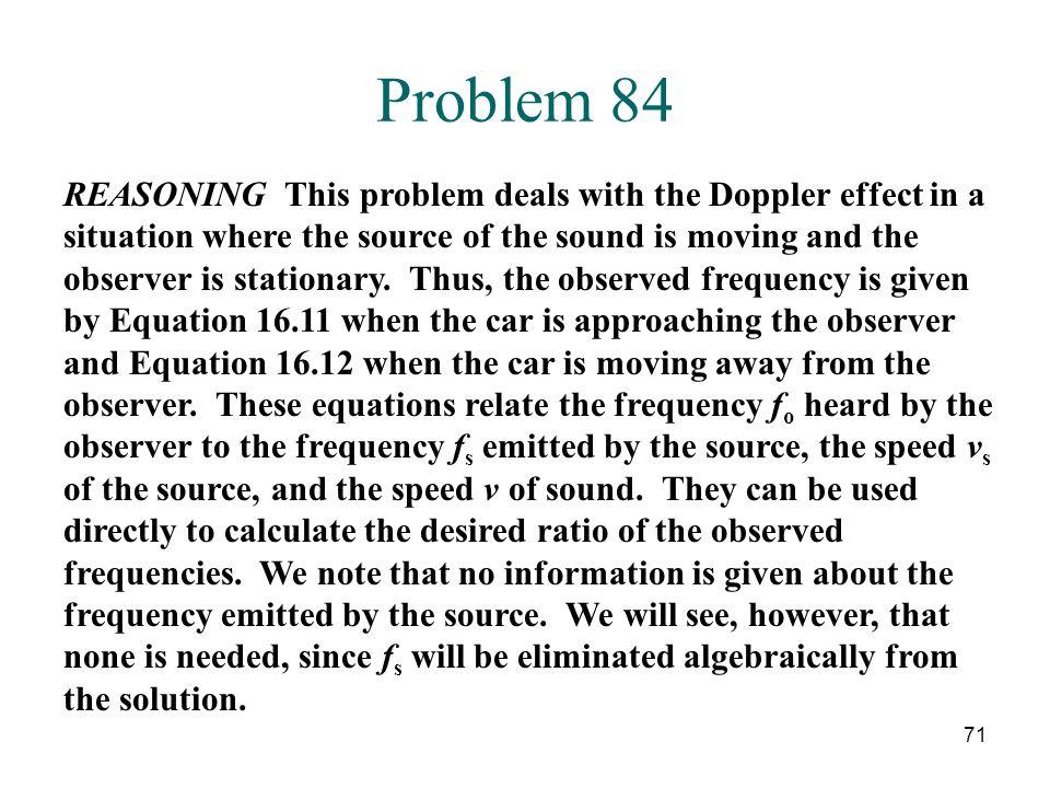Problem 84