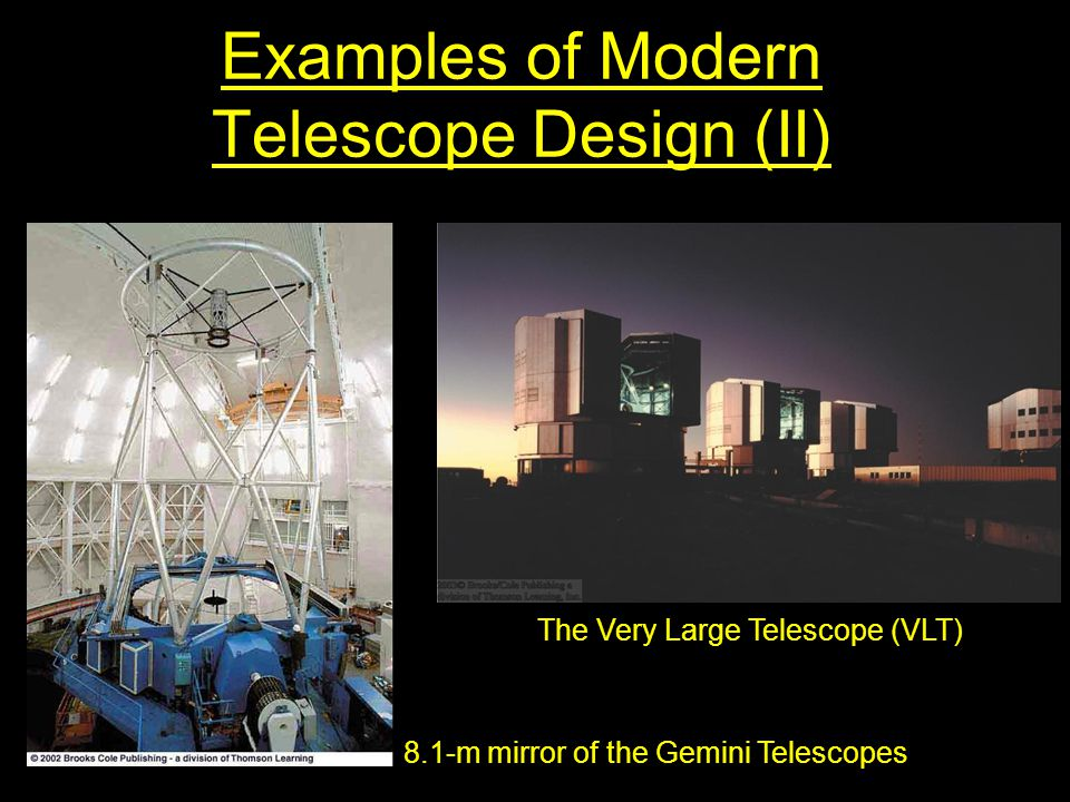 Examples of Modern Telescope Design (II)