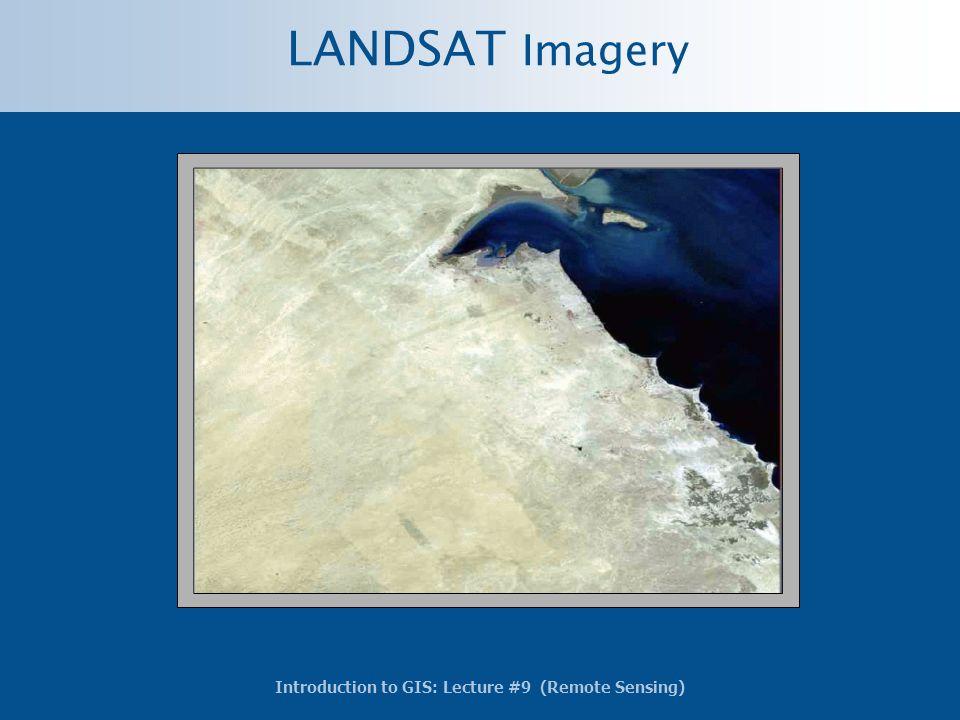 LANDSAT Imagery