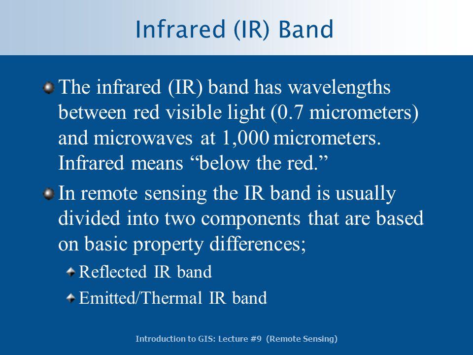 Infrared (IR) Band
