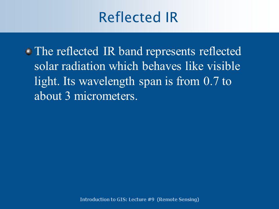 Reflected IR