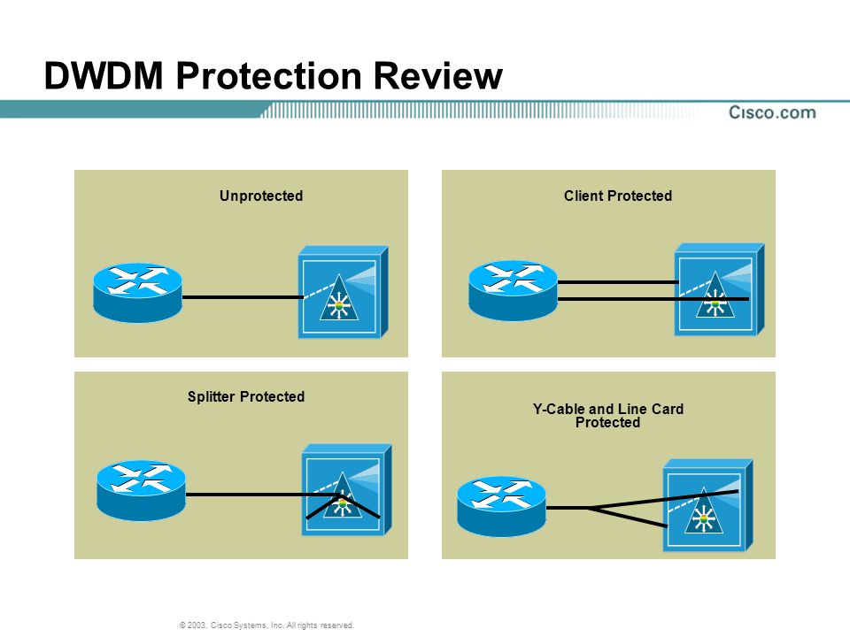 DWDM Protection Review