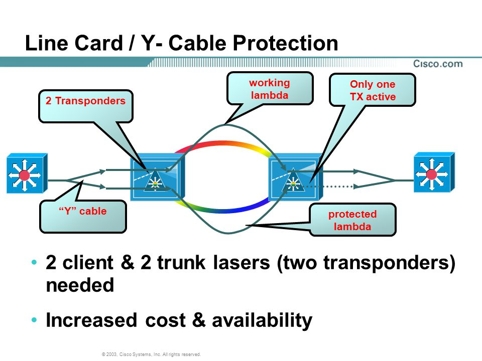 Line Card / Y- Cable Protection