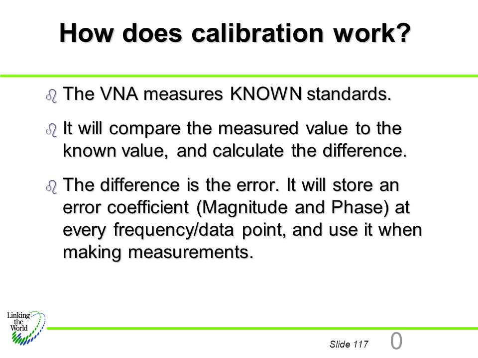 How does calibration work