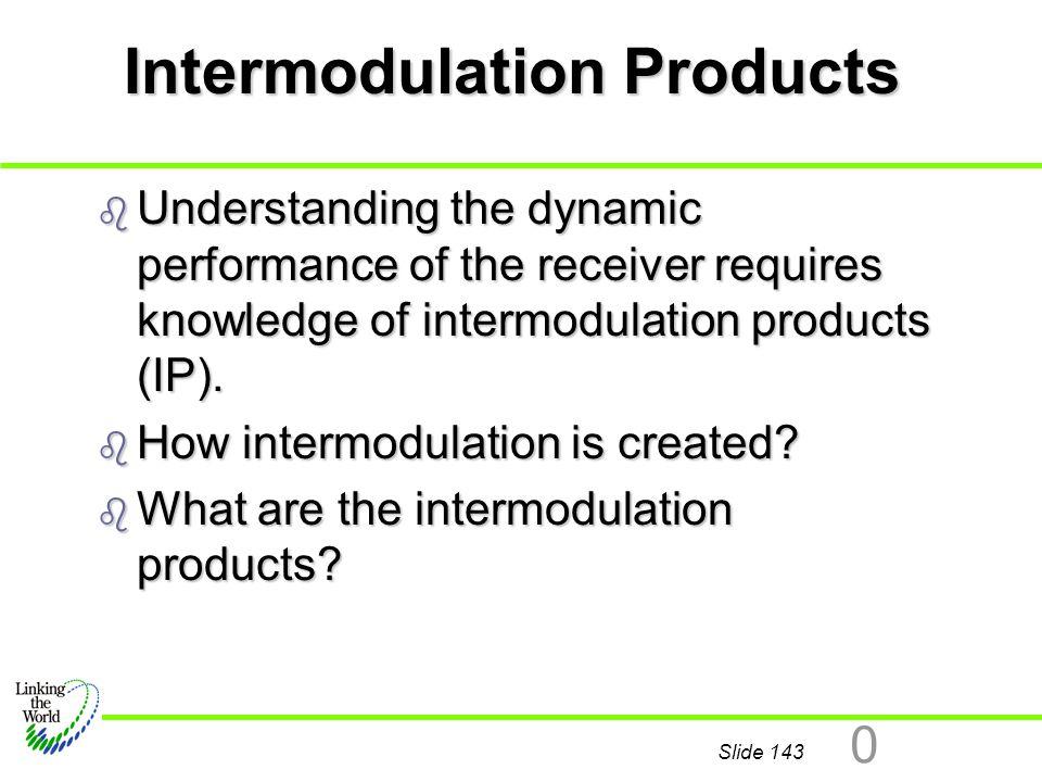 Intermodulation Products