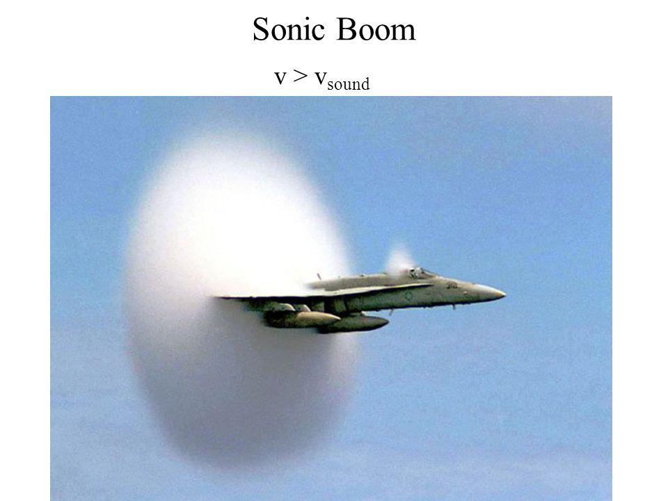 Sonic Boom v > vsound